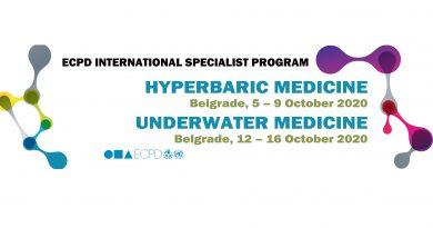 ECPD međunarodni specijalistički program HIPERBARIČNE MEDICINE